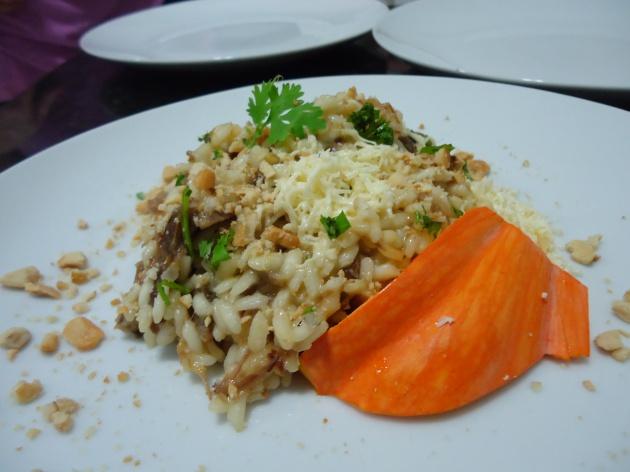 risoto carne de sol com abóbora 1