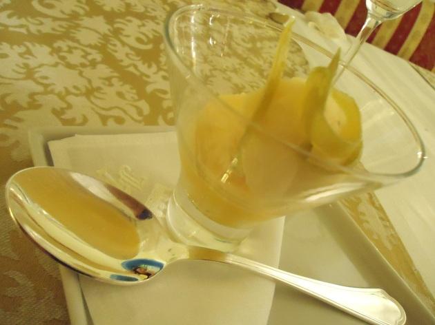 sorvete de tangerina