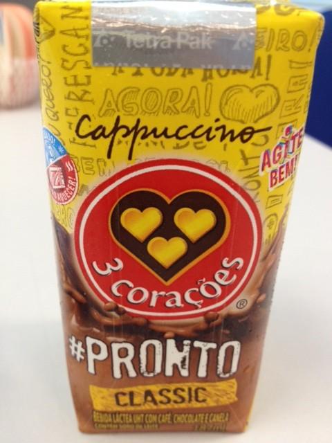 cappuccino 3 corações