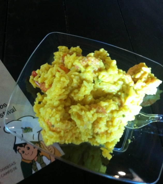 ipark arroz de camarao
