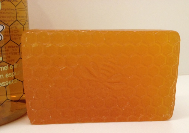 ducha sabonete favo de mel
