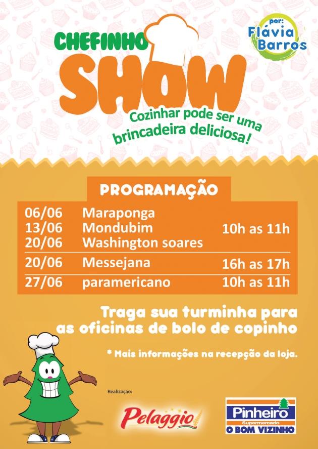 Chefinho Show 2015