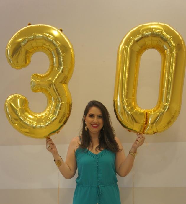 Aniversário 30 anos Rafaella Botelho