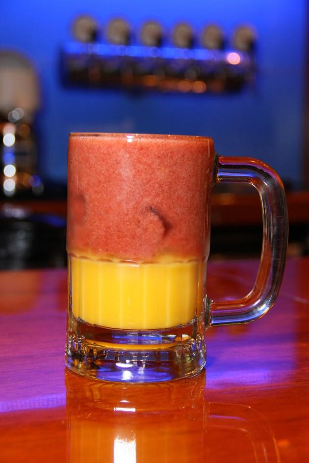 Suco Especial Laranja com Morango