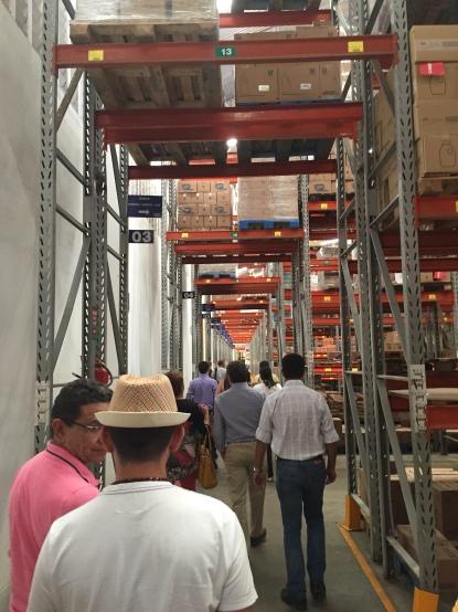 Centro de distribuição Pinheiro Supermercados