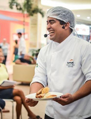 Chef Franzé Melo