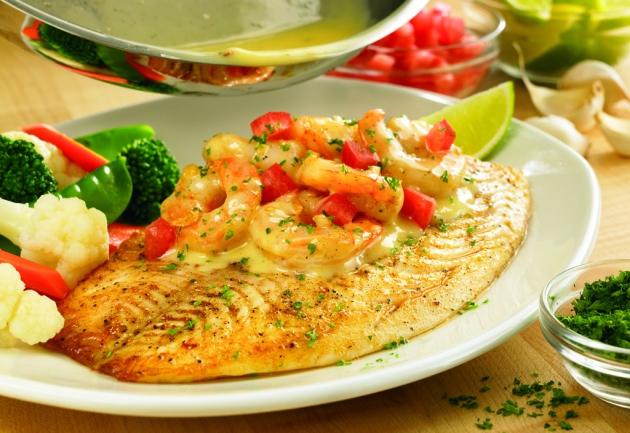 Grilled Fish Shrimp