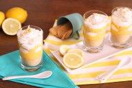 Tortinha de limão no copo