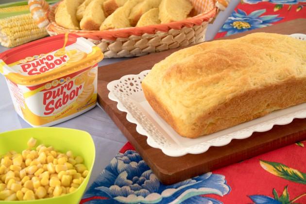 Pão de Milho Puro Sabor